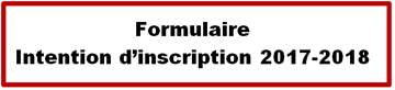 formulaire d'intention